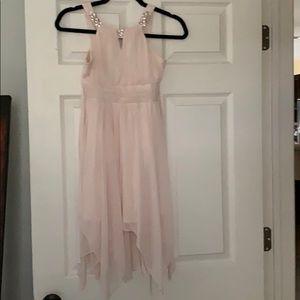 Gorgeous light pink formal dress